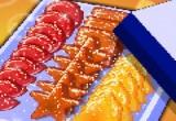 لعبة طبخ الحلويات الملونة