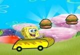 لعبة سيارات سبونج بوب السريعة