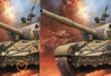 لعبة اختلاف صورة الدبابة