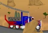 لعبة ركن الشاحنة الطويلة