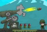 لعبة مدفعية راش