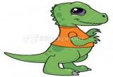 لعبة الديناصور الصغير