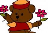 العاب تلوين الدب ويني