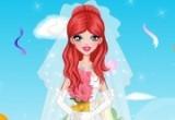 لعبة تلبيس فستان زفاف العروس