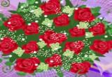 لعبه تصميم مسكات الزهور