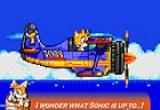 لعبة سونيك والطائرة الخطيرة