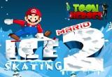 لعبة تزلج ماريو على الجليد