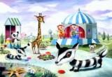 لعبة ديكور حديقة حيوان